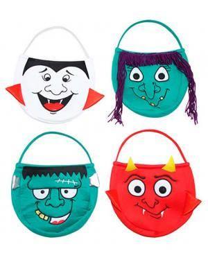 Bolsa da Halloween em Tela Disfarces A Casa do Carnaval.pt