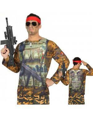 Camisola Militar Homem M-L para Carnaval