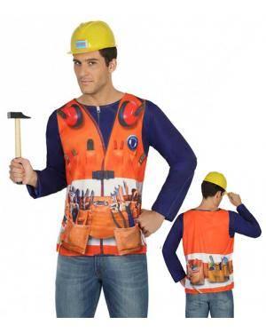 Camisola Pedreiro Homem M-L para Carnaval