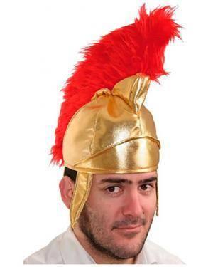 Capacete Romano em Tela, Loja de Fatos Carnaval, Disfarces, Artigos para Festas, Acessórios de Carnaval, Mascaras, Perucas, Chapeus 919 acasadocarnaval.pt