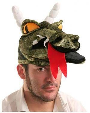 Chapéu Crocodilo, Loja de Fatos Carnaval, Disfarces, Artigos para Festas, Acessórios de Carnaval, Mascaras, Perucas, Chapeus 307 acasadocarnaval.pt