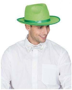Comprar Chapéu Gangster Feltro Verde, Loja de Fatos Carnaval, Disfarces, Artigos para Festas, Acessórios de Carnaval, Mascaras 356 acasadocarnaval.pt