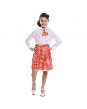 Conjunto Pin-Up Vermelho Menina para Carnaval