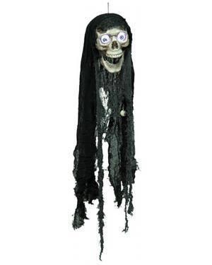 Crânio com Luz e Som 17X18X70cm  Disfarces A Casa do Carnaval.pt