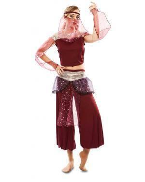 Disfarce de Dançarina Árabe Adulta para Carnaval