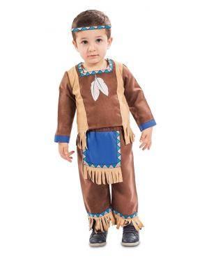 Disfarce de Índio Bebé para Carnaval