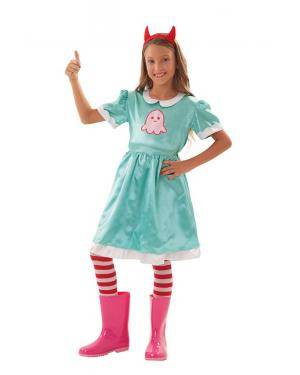 Disfarce de Princesa Mágica Infantil para Carnaval