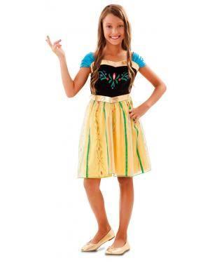 Disfarce de Princesa Primavera Infantil para Carnaval