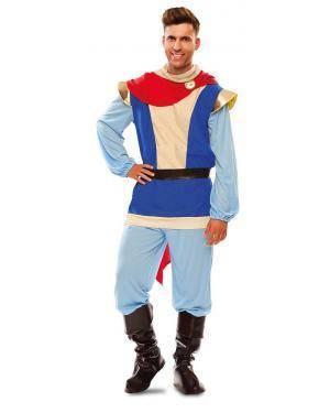 Disfarce de Príncipe Azul Adulto para Carnaval
