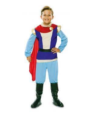 Disfarce de Príncipe Azul Infantil para Carnaval