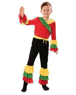 Disfarce de Rumbero Infantil para Carnaval