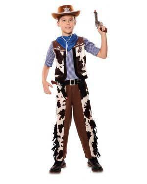 Disfarce de Vaqueiro Infantil para Carnaval