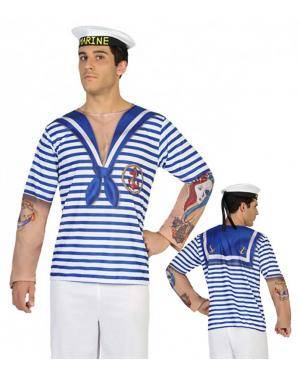 Disfarce Marinheiro Homem M-L para Carnaval