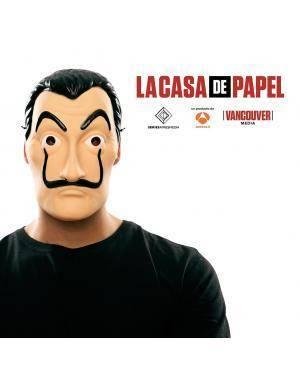 Máscara de Dalí oficial de la serie LA CASA DE PAPEL