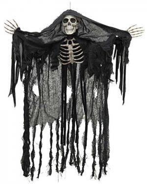 Esqueleto Fantasma com Luz 90Cm  Disfarces A Casa do Carnaval.pt
