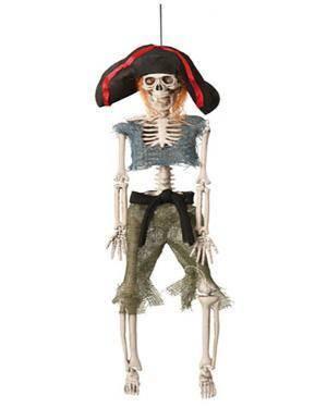 Esqueleto Pirata 42Cm  Disfarces A Casa do Carnaval.pt