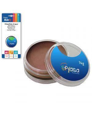 Maquiagem Aquacolor Marrom 14gr para Carnaval ou Halloween