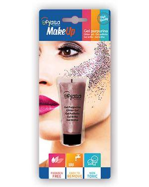 Gel Purpurina Multicor 14 Ml para Carnaval ou Halloween
