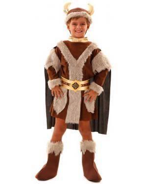 Fato Viking Menino para Carnaval ou Halloween