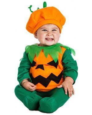 Fato Abóbora Bebé para Carnaval ou Halloween 4359 - A Casa do Carnaval.pt