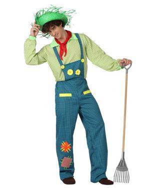 Fato Agricultor Jardineiro Adulto Disfarces A Casa do Carnaval.pt