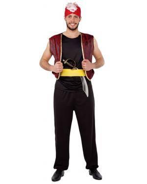 Fato Aladino das Arabias Adulto Disfarces A Casa do Carnaval.pt