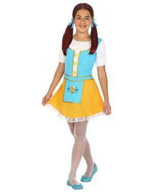 Fato Alemã Azul Menina de 5-6 anos Disfarces A Casa do Carnaval.pt