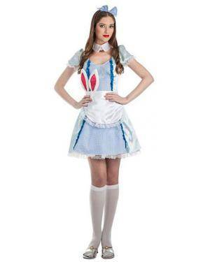 Fato Alice Maravilhas T. M/L Disfarces A Casa do Carnaval.pt
