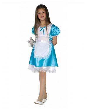 Fato Alicia Infantil Disfarces A Casa do Carnaval.pt
