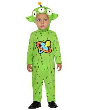 Fato Alien Bebé de 12-24 meses Disfarces A Casa do Carnaval.pt