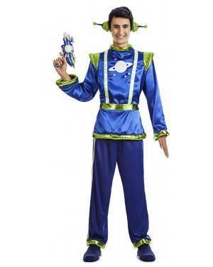 Fato Alien Homem T. M/L Disfarces A Casa do Carnaval.pt