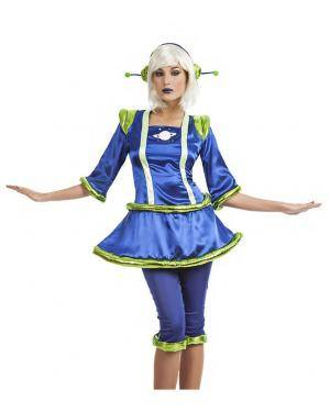 Fato Alien Mulher T. M/L Disfarces A Casa do Carnaval.pt