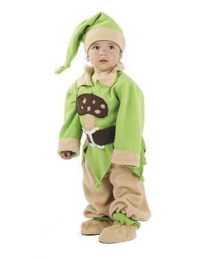 Fato de Anãozinho Bebé para Carnaval | A Casa do Carnaval.pt