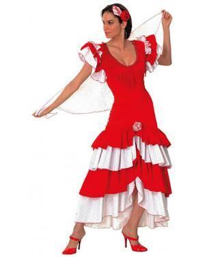 Fato Andaluza Flamenco Adulto Disfarces A Casa do Carnaval.pt