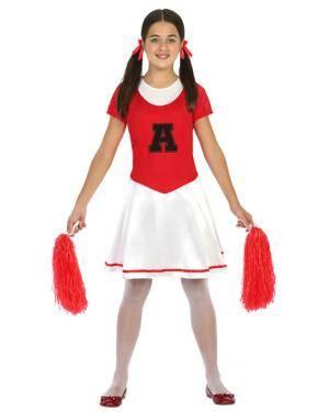 Fato Animadora Menina de 5-6 anos Disfarces A Casa do Carnaval.pt