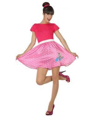Fato Anos 50 Rosa Mulher Adulto XL Disfarces A Casa do Carnaval.pt