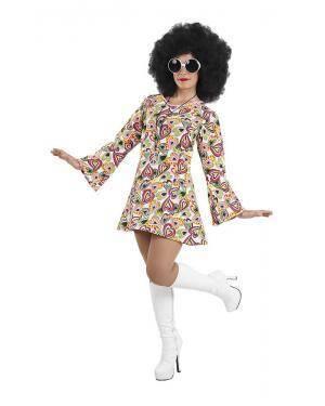 Fato de Anos 70 Disco Mulher Adulto para Carnaval | A Casa do Carnaval.pt