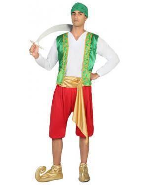 Fato Árabe Sultão Homem Adulto M/L Disfarces A Casa do Carnaval.pt