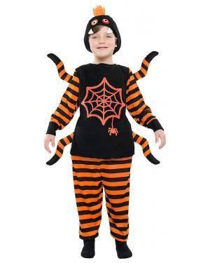 Fato Aranha Negra 5-6 Anos Disfarces A Casa do Carnaval.pt