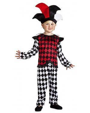 Fato Arlequim 7-9 Anos Disfarces A Casa do Carnaval.pt