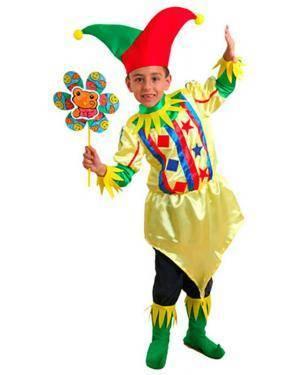 Fato Arlequim Criança Disfarces A Casa do Carnaval.pt