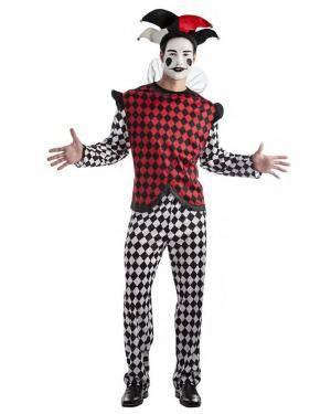 Fato Arlequim Pierrot T. XL Disfarces A Casa do Carnaval.pt