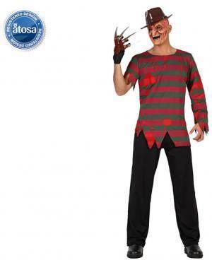 Fato Assassino Freddy Adulto Disfarces A Casa do Carnaval.pt