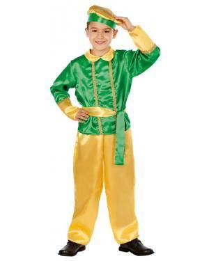 Fato Assistente do Rei Mago Verde Disfarces A Casa do Carnaval.pt