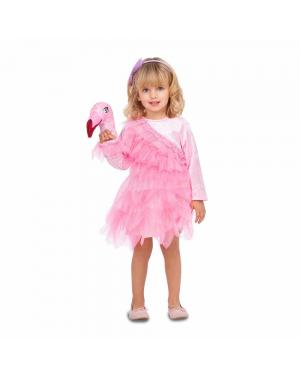 Fato Bailarina Flamingo para Carnaval