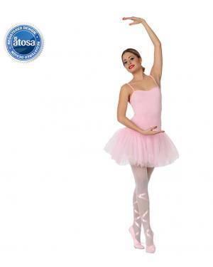 Fato Bailarina Rosa Adulto Disfarces A Casa do Carnaval.pt