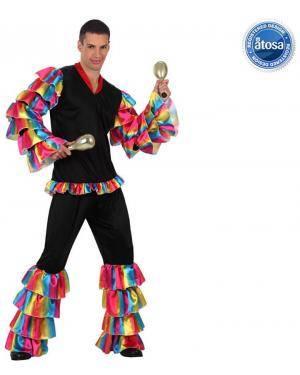 Fato Bailarino Rumba Rumbeiro Adulto Disfarces A Casa do Carnaval.pt