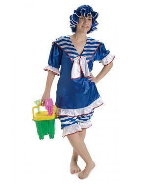 Fato Banhista Anos 20 Mulher Tamanho M/L para Carnaval o Halloween 91763 | A Casa do Carnaval.pt