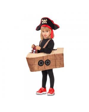 Fato Barco Pirata 5-6 Anos para Carnaval