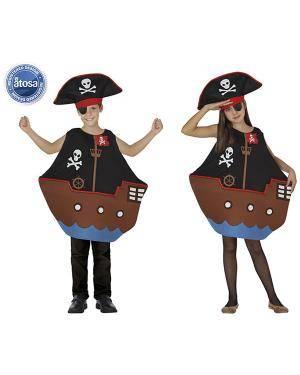 Fato Barco Pirata Unisex Disfarces A Casa do Carnaval.pt